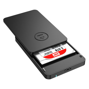 ORICO 2569S3 2.5 Inch SATA 3.0 to USB 3.0 Tool Free SSD HDD Hard Drive Enclosure Storage Case
