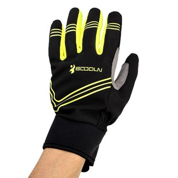 Winter Windproof Riding Gloves Touch Screen Thickened Keep Warm Bicycle Glove