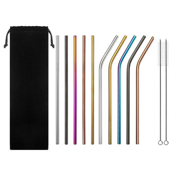 20% OFF for Multi-Color Stainless Steel Straws