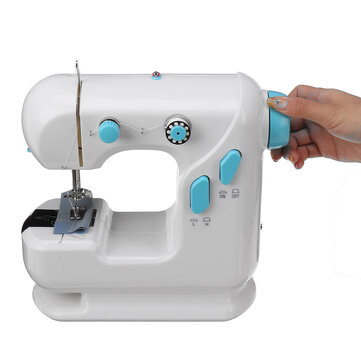 ₹2,702.62 AC100-240V LED Mini Electric Sewing Machine Lightweight Sewing Tools Household Dual Speed switch Automatic Thread Winding Electrical Equipment & Supplies from Tools, Industrial & Scientific on banggood.com