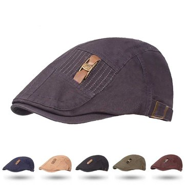 Men Women Winter Adjustable Painter Newsboy Caps