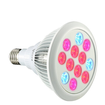 ARILUX® PL-GL 01 E27 12W/24W LED Plant Grow Light Lamp Bulb for Garden Hydroponics Greenhouse Organic