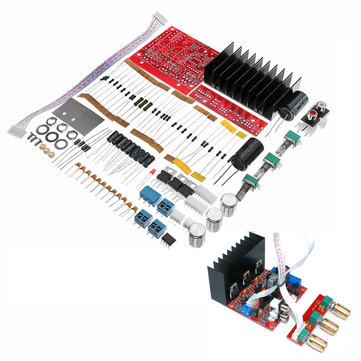 DIY TDA2030A DC 12V 30W 1.5A 2.1 Amplifier Board Kit 3 Channels Computer Speaker Subwoofer Circuit Board