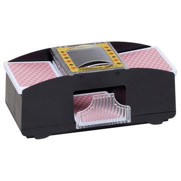 1-2 jeu de cartes à jouer au poker en plastique machine automatique de la carte battages carte de Shuffler
