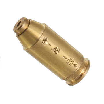 .45 Laser Bore Sighter Red Dot Sight Brass Cartridge Bore Sighter
