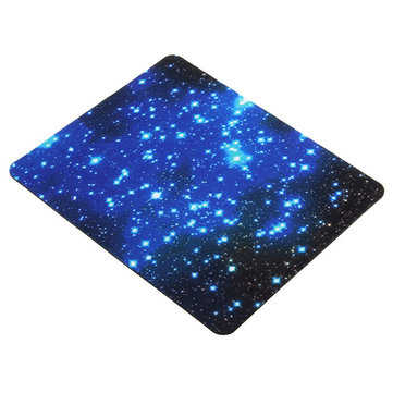 22x18cm Blue Starry Sky Mouse Pad Anti-Slip Gaming Mat Mouse For Computer Laptop
