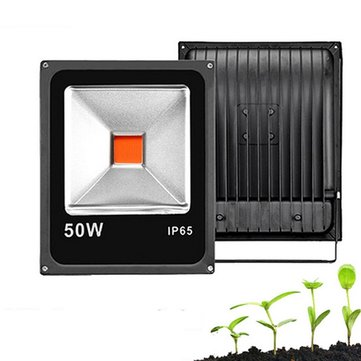 20W 30W 50W Full Spectrum COB LED Grow Plant Flood Light Waterproof for Vegetable Flower AC85-265V