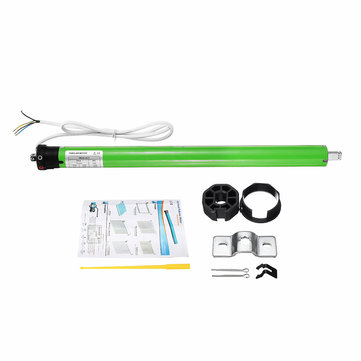 AC 220V 145W 0.65A 35mm DIY Electric Roller Blind Shade Tubular Motor Kit Set 17RPM