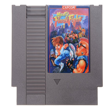 Mighty Final Fight 72 Pin 8 Bit Game Card Cartridge for NES Nintendo English Language