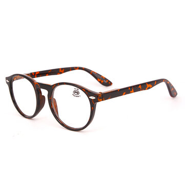 Unisex Light Round Retro Reading Glasses Fashion Clear Lens Eyeglasses