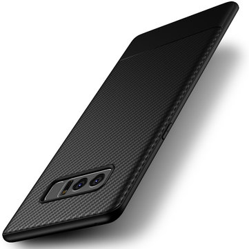 Ultra Thin Shockproof Carbon Fiber Soft TPU Case for Samsung Galaxy Note 8