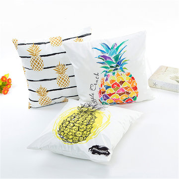 Honana WX-D8 45x45cm Silk Soft Fashionable Fruit Throw Pillow Case Waist Cushion Cover