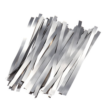 100Pcs Pure Nickel 99.96% Low Resistance Battery Tabs Mat for Welding 0.1x4x100mm