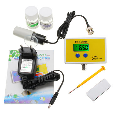 Wattson WS-PH2701 0.01pH Resolution Online PH Monitor Water Quality Online Analyzer Tester