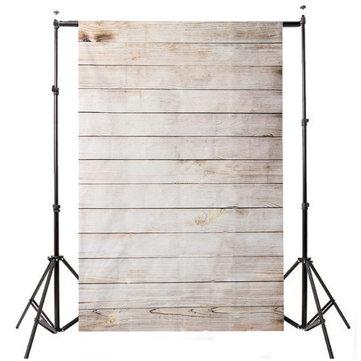 5x7Ft Vinyl Wood Wall Cloth Studio Props Backdrop Photography Photo Background