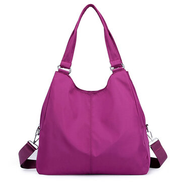 Women Travel Nylon 3 Layers Waterproof Shoulder Bag
