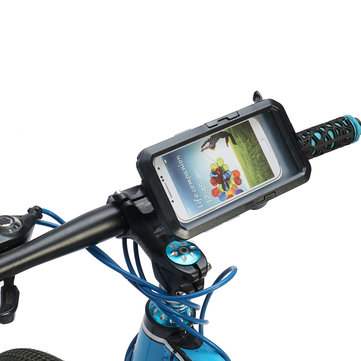 Motorbike Bike Phone GPS Holder Underwater Waterproof Case For Samsung S8 S9