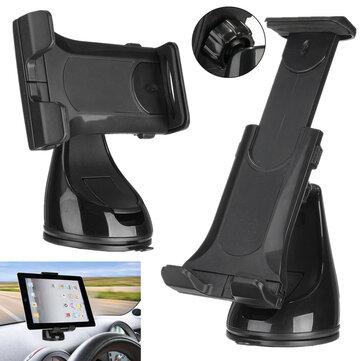 Supporto universale di supporto per PhonE della tazza di aspirazione del vento dell'automobile dell'automobile per il iPhone iPad Samsung Compresse di Xiaomi