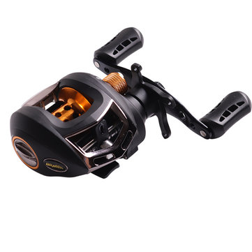 ZANLURE DM20 6.3:1 9+1 BB Metal Fishing Baitcasting Reel Magnetic Braking Left/Right Hand Wheel