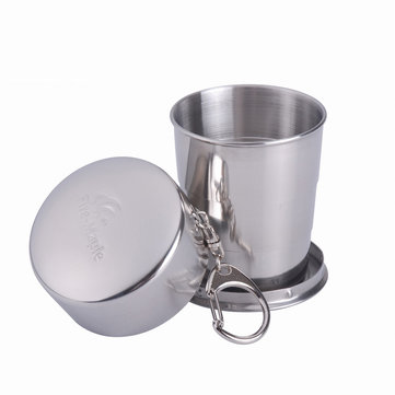 Fire-Maple 140ml Portable Camping Picnic Cup Stainless Steel Folding Light Weight Water Mug FMP-302