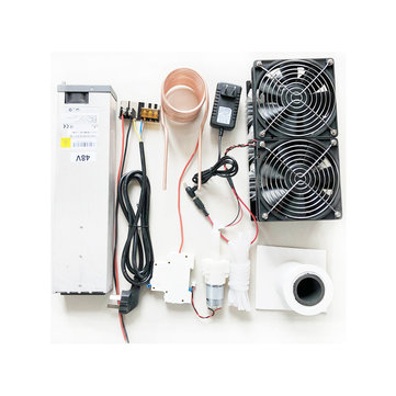 Geekcreit® 2500W 48V 50A ZVS Induction Heating Module High Frequency Heating Machine Melted Metal Coil With Power Supply Full Kit