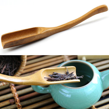 Bamboo Tea Spoon Curved Tea Spoon Tea Leaves Measurement Kungfu Tea Acessaries