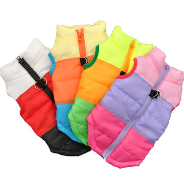 Dog Clothes For Small Dog Windproof Winter Pet Dog Coat Jacket Padded Clothes Puppy Outfit Vest