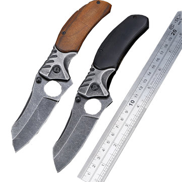 LAOTIE 200mm 3CR13 Stainless High Hardness Tactical Outdoor Hunting Wild Defending Folding Knife