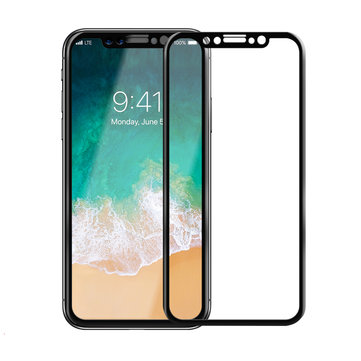 3D Arc Edge Tempered Glass Phone Screen Protectors for iPhone X