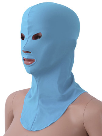 Hot Male/Female Waterproof Sunscreen Anti Ultraviolet Diving Face Swimming Cap Facekini