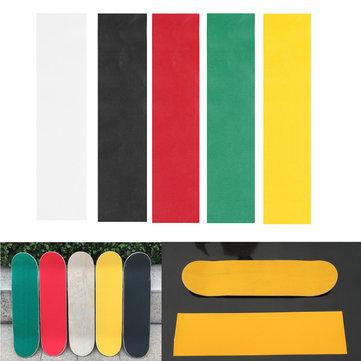 Красочные скейтборд палубе наждачной бумаги Grip ленты Griptape коньках наклейки