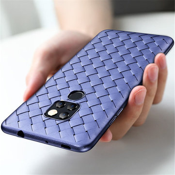 ROCK Woven Breathable Thin Soft TPU Back Cover Protective Case for Huawei Mate 20