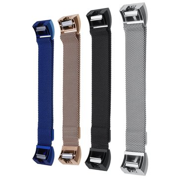 Fashionable Durable Loop Watchband Stainless Steel Metal Strap Bracelet Wristband Watch Band