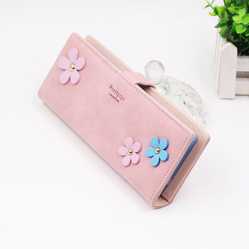 Women Multi-card Slots Card Holder Check Holder Long Wallet Money Clip with 55 Card Slots