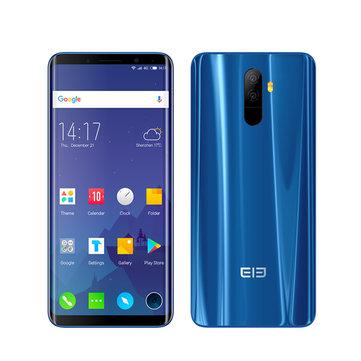 ElephoneU5.99İnçAMOLEDEsnek Kavisli Ekran 6GB RAM 128GB ROM MTK6763 2.0 GHZ 4G Akıllı Telefon