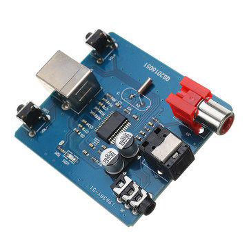 5V DAC Decoder PCM2704 USB Audio Sound Card Module Analog SPDIF Coaxial HiFi Decord Board