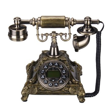 Vintage Antique Resin Telephones European Landline Handset Telephone For Home Office Hotel Use