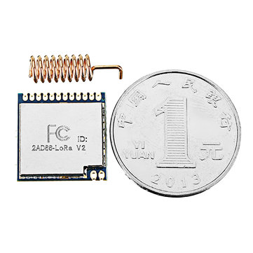 868MHz / 915MHz 100mW SX1276 Chip Long Range 4Km RF Wireless LoRa Module LoRa1276