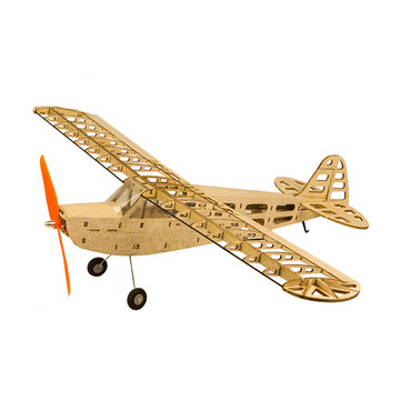 T08-J3 J3 600mm Wingspan Balsa Wood Laser Cut RC Airplane