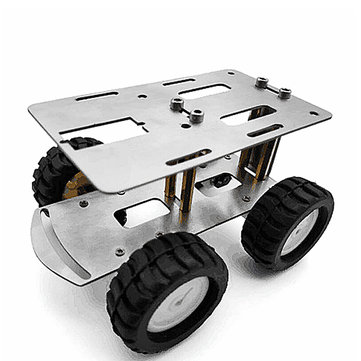 DIY RC Robot Chassis Tank Car Kit Metal Car Chassis