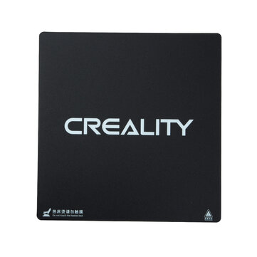 Creality 3D® 235*235*1mm New Logo Frosted Heated Bed Hot Bed Platform Sticker With 3M Backing For Ender-3 / Ender-3 Pro 3D Printer Part