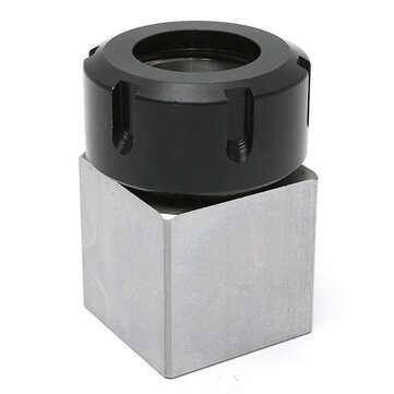 Hard Steel Square ER-32 Collet Chuck Block CNC Lathe Tool Holder