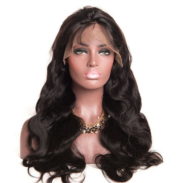 Glueless Lace Front Hair Wigs Wave Curly Wig Brazilian Simulated Women 24 inch