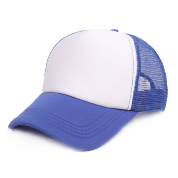 Men Outdoor Mesh Solid Color Baseball Cap