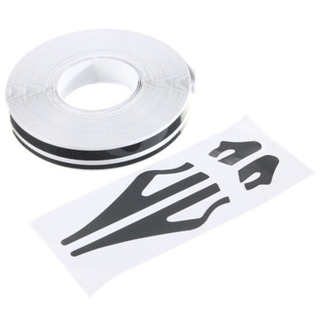 1/2inch Pin Striping Stripe Vinyl Tape Decals Stickers 12mm for Cars Motorcycles