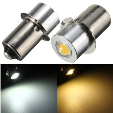 P13.5S PR2 LED Flashlight Bulb 1W Interior Bike Torch Spot Replacement Lamp Bulb DC3-18V