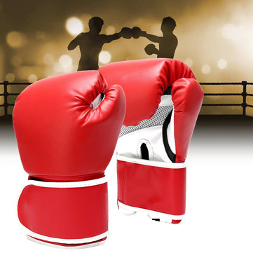 16oz Boxing Gloves Unisex Training Fighting Gloves Sandbag Gym Gloves Sanda Equipments