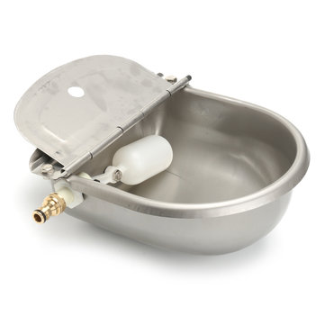 4L Automatic Float Valve Waterer Trough Bowl Stock Farm Horse Cow Dog Drink Water Bowl