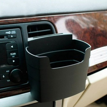 Multi-Usage Car Storage Box Phone Beverage Holder French Fries Holder