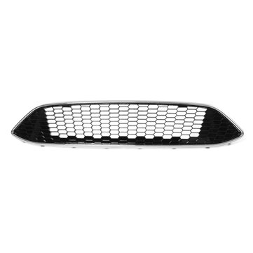 For FORD FOCUS MK3 ZETEC S Sport Honeycomb Mesh Front Bumper Centre Grille Panel